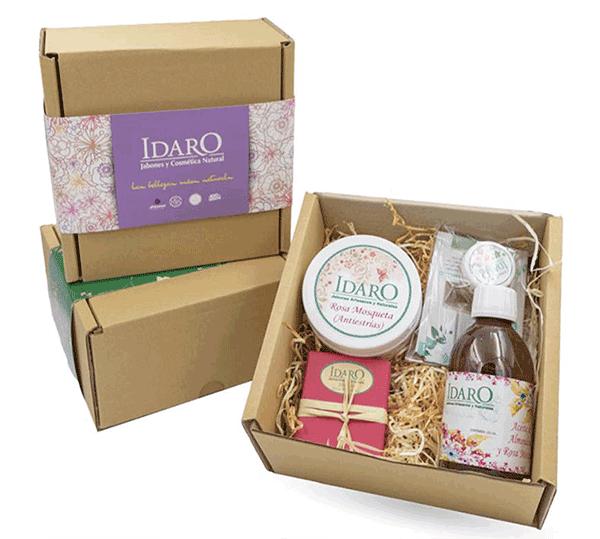 Cajas regalo con productos de cosmética