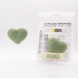 Esponja de Konjac con té verde | Idaro